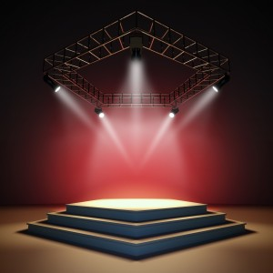 Empty-stage-with-light